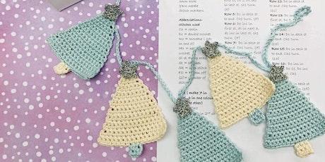 Crochet Christmas Tree Bunting Workshop tickets
