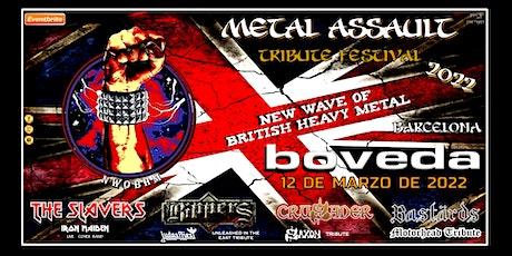 METAL ASSAULT - BRITISH HEAVY METAL TRIBUTE - BARCELONA entradas