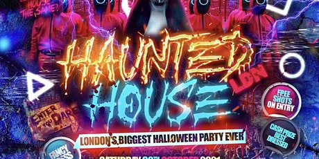 Haunted House London Biggest Halloween tickets