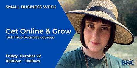 Get Online & Grow with Free Business Courses tickets