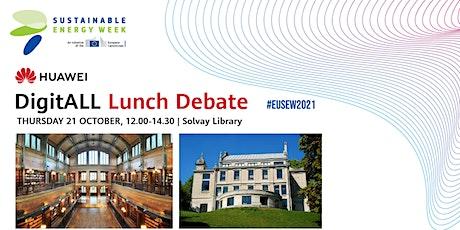 DigitALL Lunch Debate #EUSEW2021 tickets