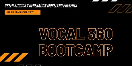 VOCAL 360 BOOTCAMP - SINGING FITNESS PROGRAM tickets