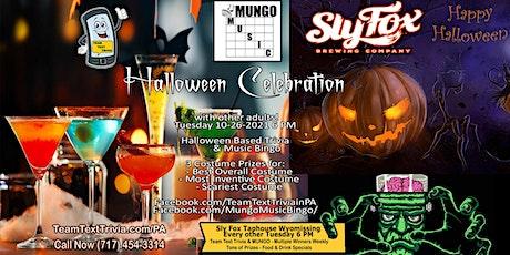 Halloween Trivia, Music Bingo & Costume Contest at Sly Fox Wyomissing PA tickets