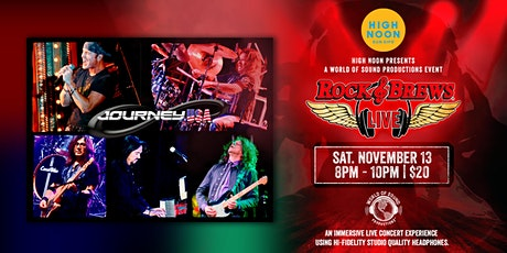 JOURNEY USA:  Journey Tribute Band tickets