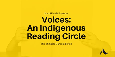 Voices:  An Indigenous Reading Circle tickets