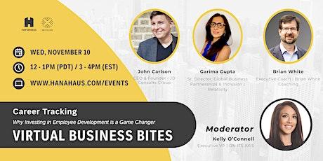 Virtual Business Bites | Career Tracking biglietti