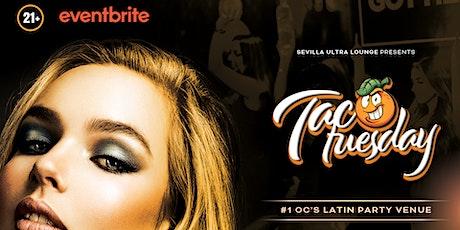 TACO TUESDAY PARTY OC - CLUB HITS - REGGAETON - BACHATA - SALSA & MORE tickets