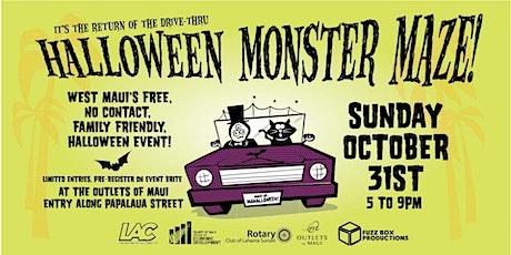 Halloween in Lahaina - Drive Thru Monster Maze tickets