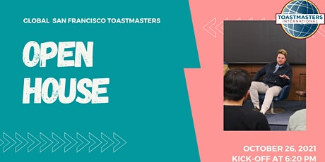 Open House Global San Francisco Toastmasters tickets