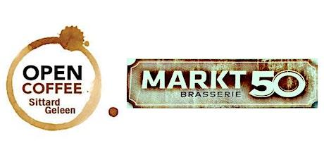 Open Coffee november 2021 - Netwerken bij Brasserie Markt50 in Geleen billets