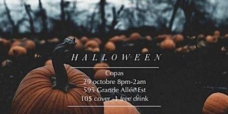 Halloween Party Copas billets