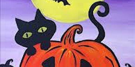 Kids Halloween Paint Night at Serafino's Restaurant tickets