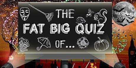 BucketRace The Fat Big Quiz of... Fireworks & Fall tickets