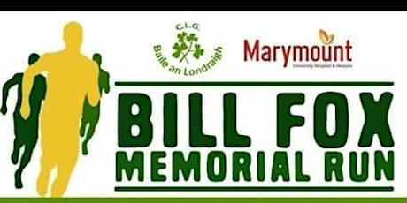 Bill Fox Memorial Run tickets