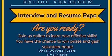 Online Roadshow: Interview & Resume Expo tickets