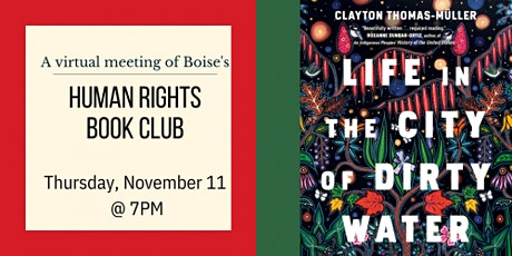 Rediscovered Books Human Rights Book Club - November Meeting tickets