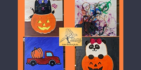 Kids Halloween Paint Afternoon with Timbernation! tickets