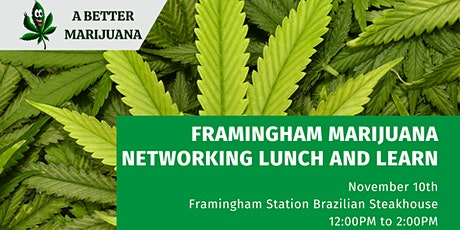 Framingham Marijuana Networking Lunch and Learn tickets