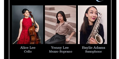 VWMS 116th Season  - October Recital - featuring THREE outstanding artists tickets
