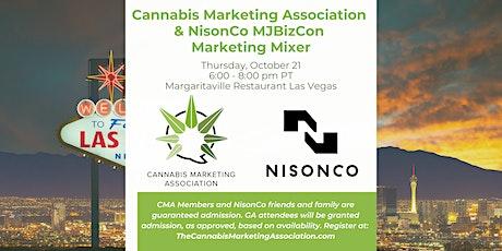 Cannabis Marketing Association & NisonCo Marketing Mixer [MJBIZCON] tickets
