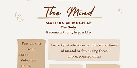 Online Roadshow:  The Mind Matters as Much as the Body tickets