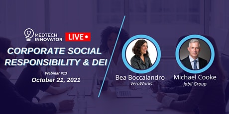 MedTech Innovator LIVE: Corporate Social Responsibility and DEI Tickets