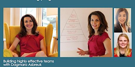 net4tec  Q&A ENTRE NOUS: Building highly effective teams tickets