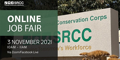 Sacramento Regional Conservation Corps (SRCC) - Online Job Fair tickets