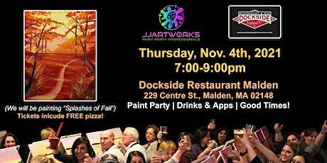 Dockside Restaurant Malden Paint Party tickets