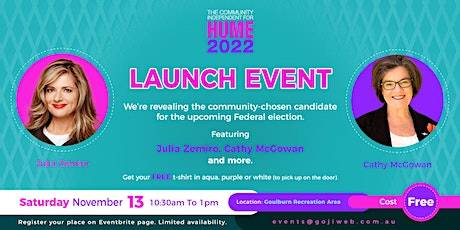 Community Independent for HUME in 2022 - LAUNCH EVENT, Feat. Special Guests tickets
