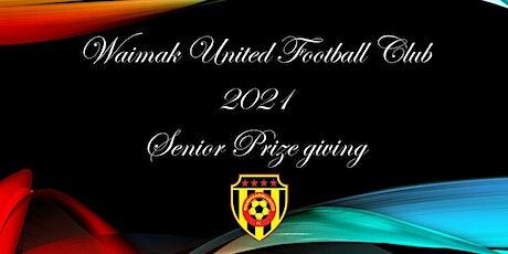 Waimakariri United Football Club Senior Prize giving tickets
