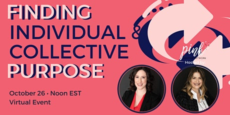 Masterclass:  Finding Individual & Collective Purpose Tickets