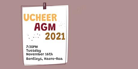 UCheer AGM tickets