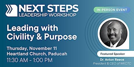 Paducah NEXT STEPS Leadership Workshop | November tickets