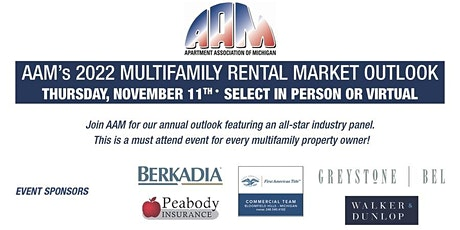 AAM Annual Market Outlook - In Person tickets