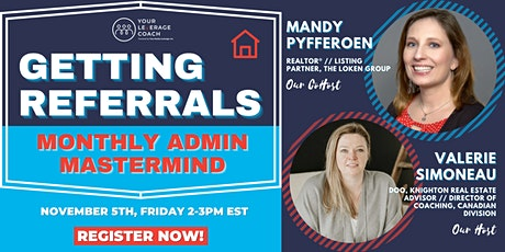 Monthly Coaching Admin Mastermind Event tickets