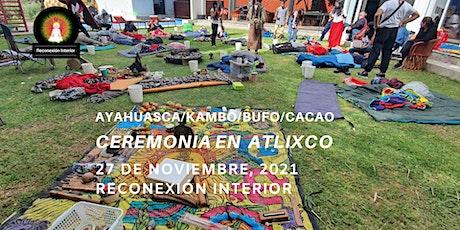 Ceremonia en  Atlixco, Puebla con Ayahuasca/Kambó/Bufo/Cacao entradas