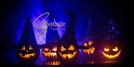 Halloween Horror Nights SATURDAY at Sabotage tickets