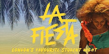 LA FIESTA STUDENT NIGHT tickets