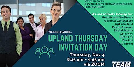 Upland Thursday Invitation Day tickets