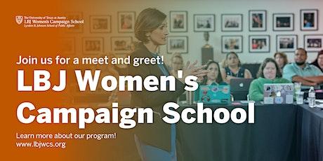 LBJ Women's Campaign School Austin Meet and Greet tickets
