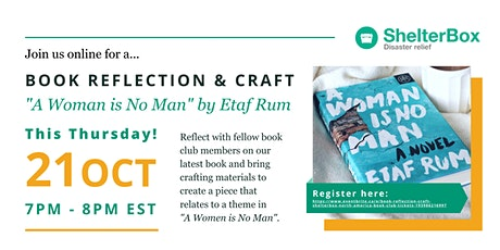 Book Reflection & Craft | ShelterBox North America Book Club tickets