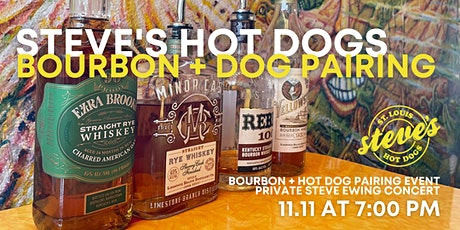 Steve's Hot Dogs Bourbon Cocktail & Hot Dogs Pairing + Concert tickets