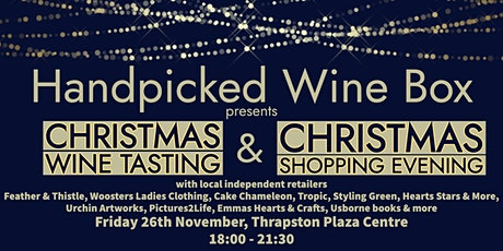 Handpicked Wine Box - Christmas Wine Tasting and Shopping Evening tickets