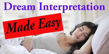 Dream Interpretation Made Easy tickets