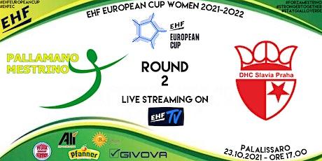 EHF EUROPEAN CUP, ROUND 2: ALÌ-BEST ESPRESSO MESTRINO vs DHC SLAVIA PRAHA biglietti