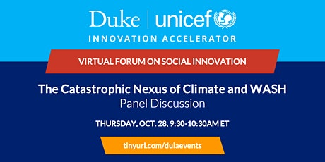 Panel Discussion: The Catastrophic Nexus of Climate and WASH tickets