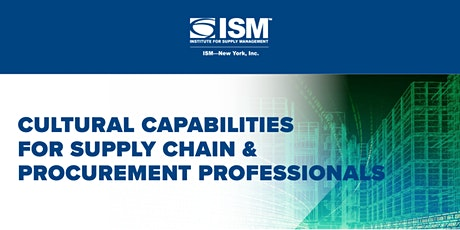 Cultural Capabilities for Supply Chain & Procurement Professionals tickets