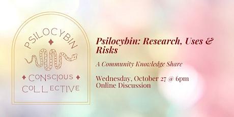 Psilocybin: Research & Risks tickets