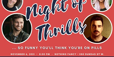 Wills Night of Thrills tickets